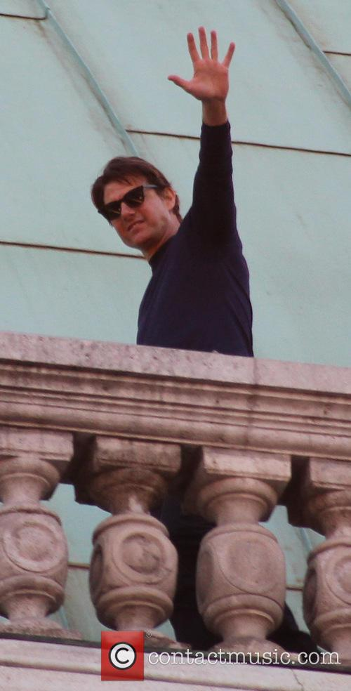 tom cruise on the set of mission 4345503