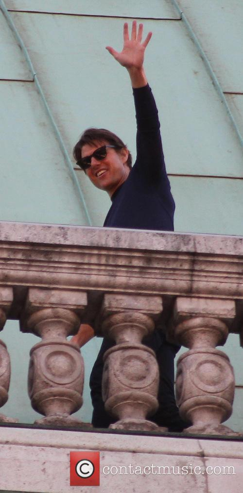 On the set of 'Mission: Impossible 5'