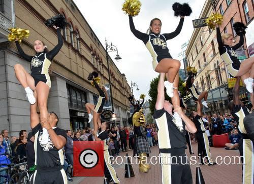 Penn State V UCF Cheerleader Squads