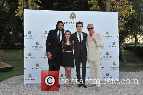 Paul Wesley, Fatima Ptacek and Lucan Toh 7