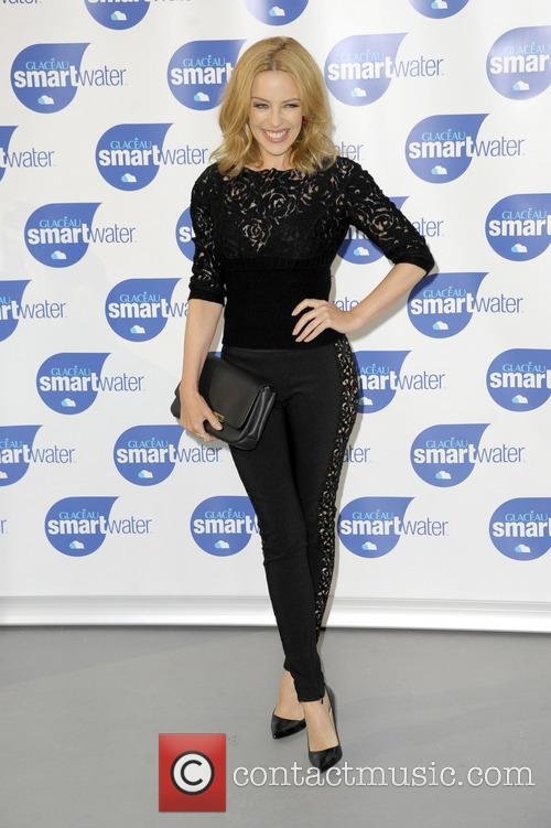 kylie minogue kylie minogue launches glaceau smartwater 4345176