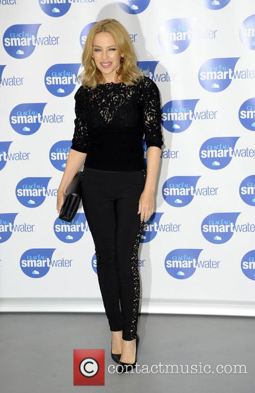 kylie minogue kylie minogue launches glaceau smartwater 4345178