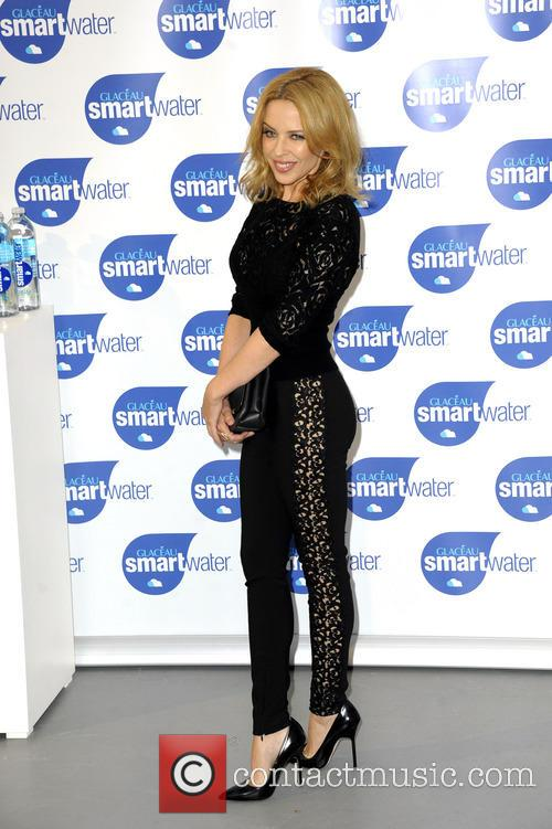 kylie minogue kylie minogue launches glaceau smartwater 4345180