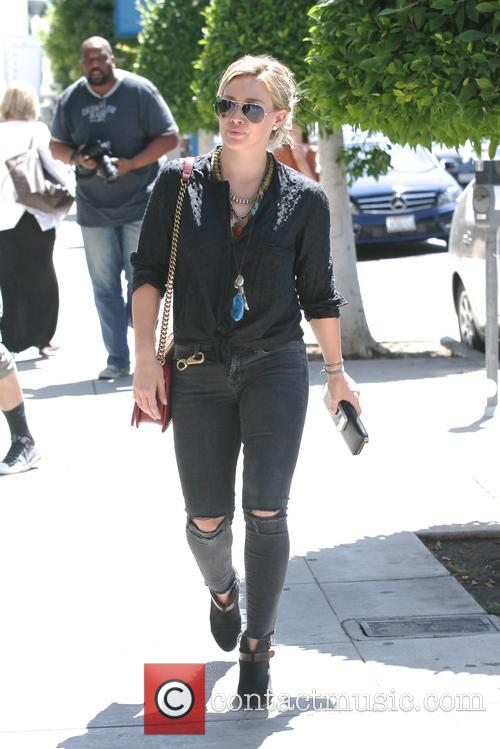 Hilary Duff shopping in West Hollywood