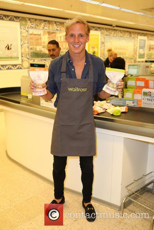 Jamie Laing Waitrose Photocall