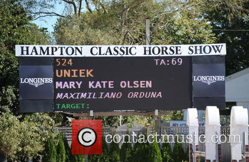 The Hampton Classic Horse Show 2014