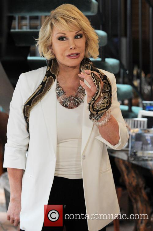 Joan Rivers on Miami Beach