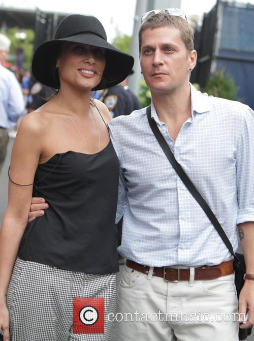 Rob Thomas, Marisol Malonado, 2014 Tennis US Open