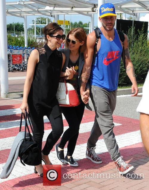 Felicity Jones and Kate Mara arrive at Venice...