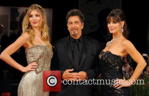 Al Pacino, Lucila Sola and Camila Sola 2