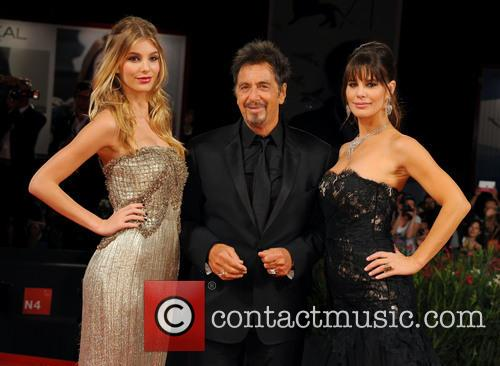Al Pacino, Lucila Sola and Camila Sola 4