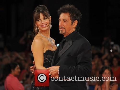 Al Pacino, Lucila Sola and Camila Sola 6