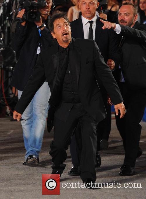 Al Pacino, Lucila Sola and Camila Sola 11