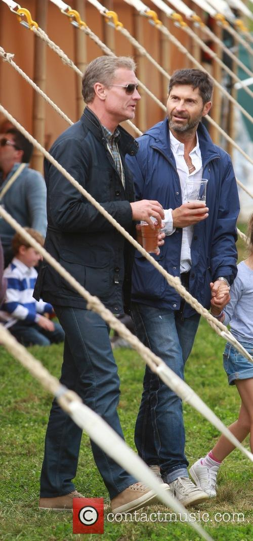 Jamie Oliver, David Coulthard and Alex James 7