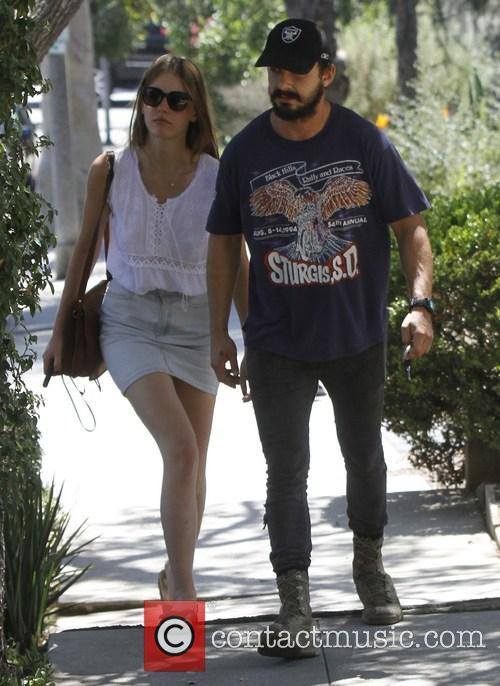 Shia Labeouf and Mia Goth 4