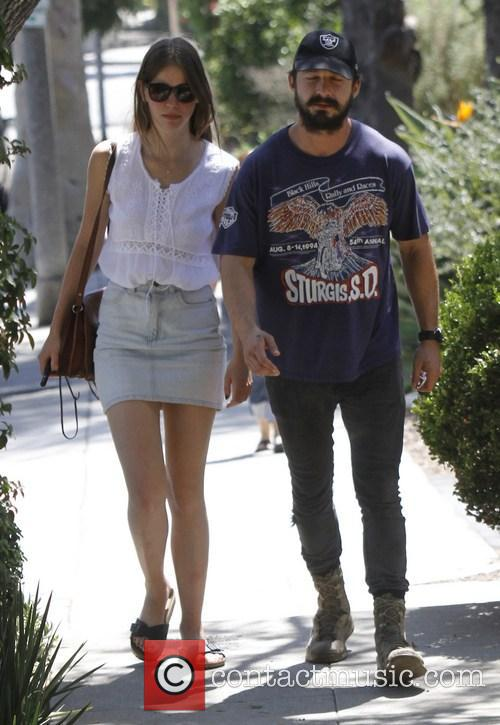 Shia Labeouf and Mia Goth 7