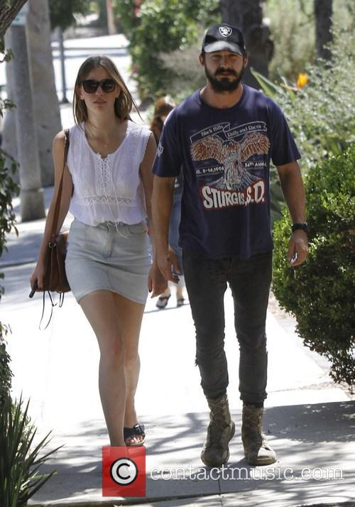 Shia Labeouf and Mia Goth 11