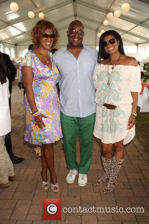 Gayle King, Frank King and And  Nina Cooper