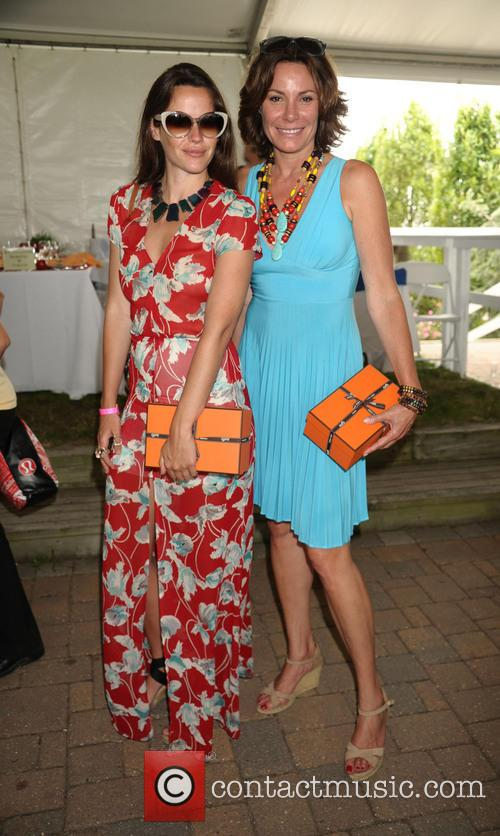 Nicole Nadeau and Countess Luann De Lesseps