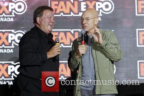 William Shatner and Patrick Stewart 4