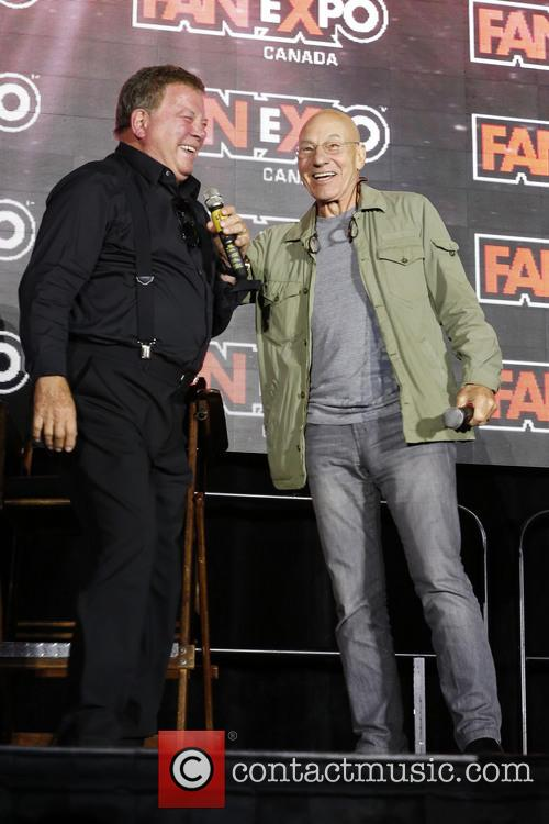 William Shatner and Patrick Stewart 6