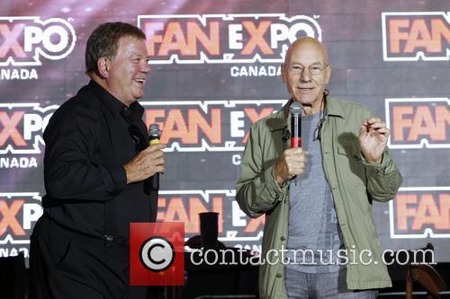 William Shatner and Patrick Stewart