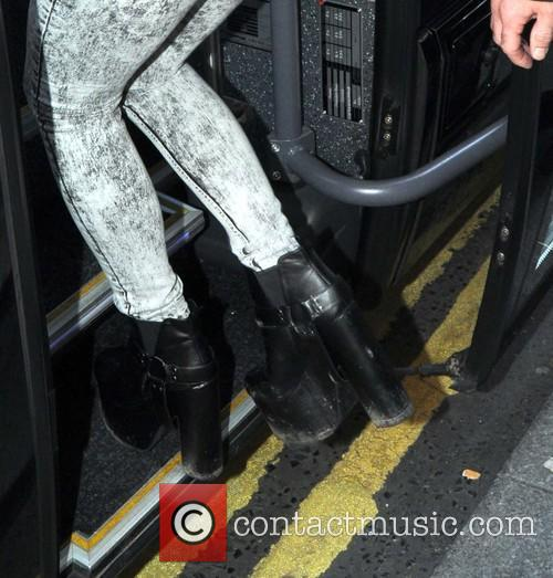 lily allen lily allen seen leaving her 4347714