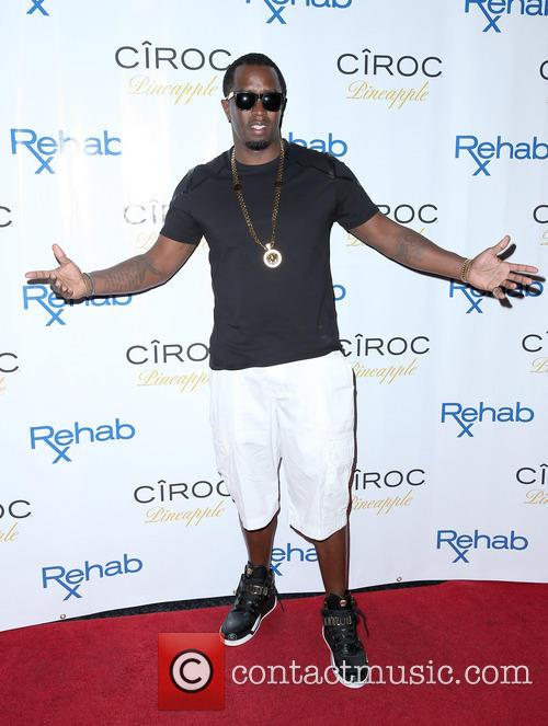Puff Daddy celebrates Labor Day Weekend at REHAB