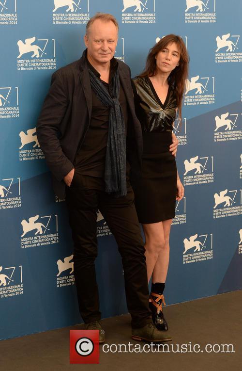 Charlotte Gainsbourg and Stellan Skarsgard