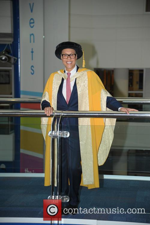 Gok Wan is awarded an Honorary Doctorate