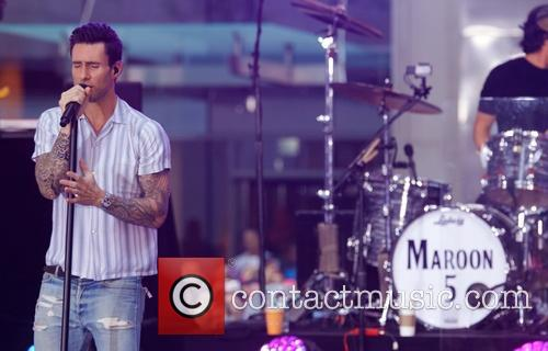 Maroon 5 at the Today show