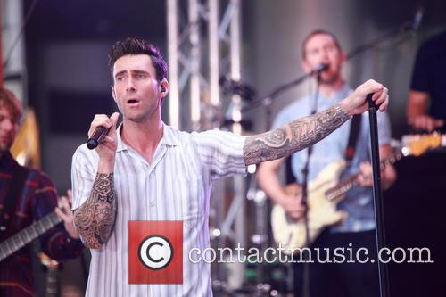 Adam Levine and Maroon 5 3