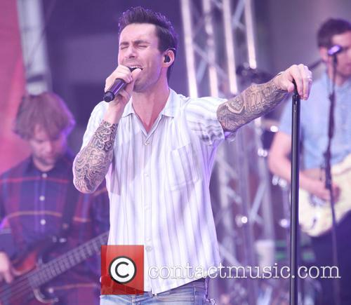 Adam Levine and Maroon 5 4