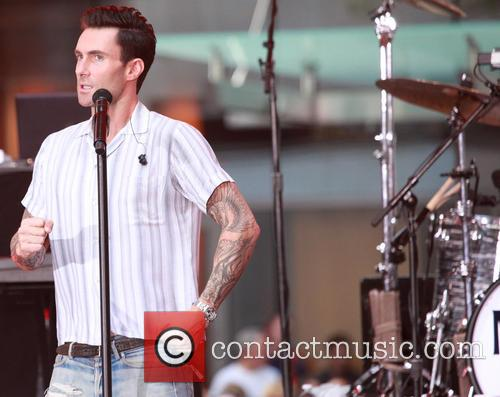 Adam Levine and Maroon 5 6