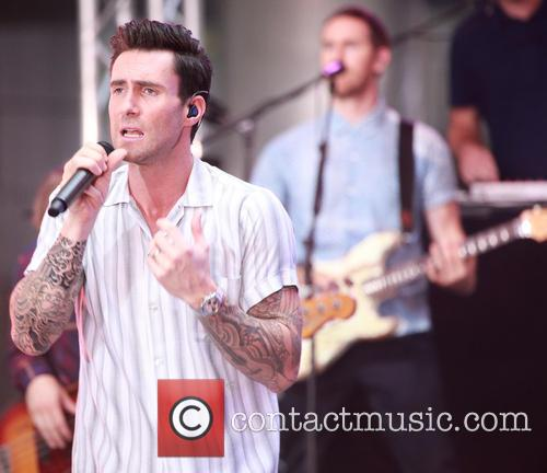 Adam Levine and Maroon 5 10