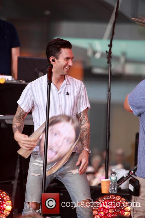 Adam Levine and Maroon 5 14