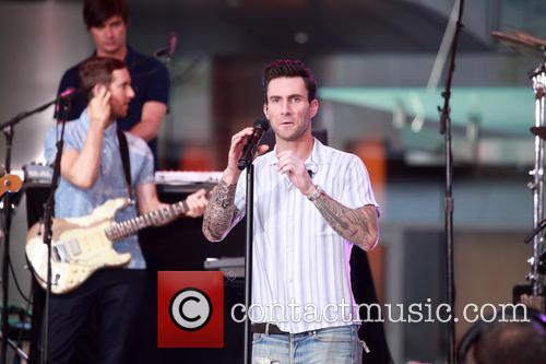 Adam Levine and Maroon 5 19