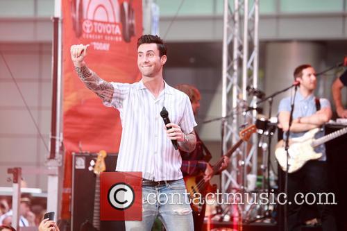 Adam Levine and Maroon 5 20