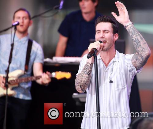 Adam Levine and Maroon 5 25