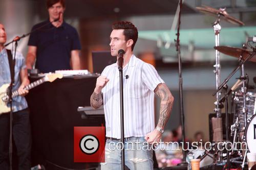 Adam Levine and Maroon 5 27