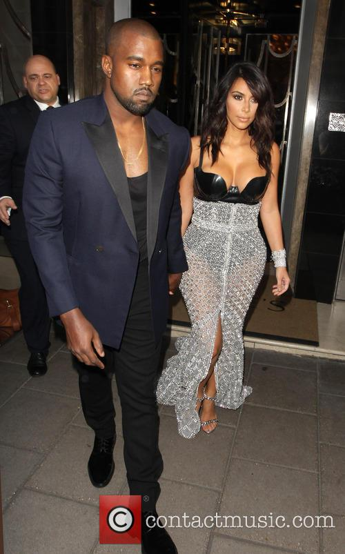 Kim Kardashian and Kayne West heading to the...