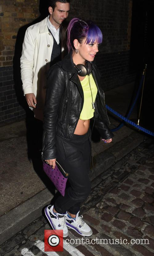 lily allen lily allen leaving chiltern firehouse 4349300