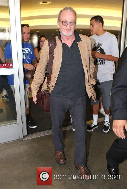 Robert England signs autographs at Los Angeles International...