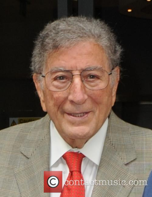 Tony Bennett at BBC Radio 2 studios