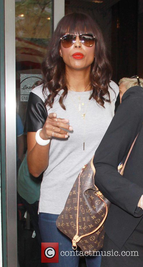 Aisha Tyler out and about in New York...