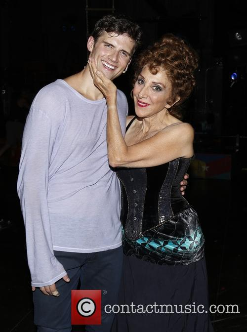 Kyle Dean Massey and Andrea Martin