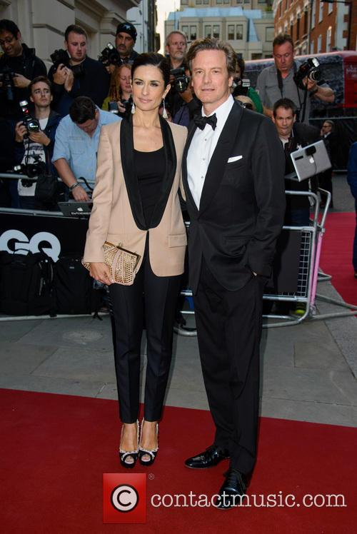 Livia and Colin Firth 1