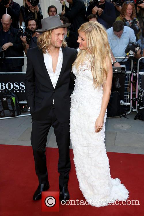 Dougie Poynter and Ellie Goulding 1