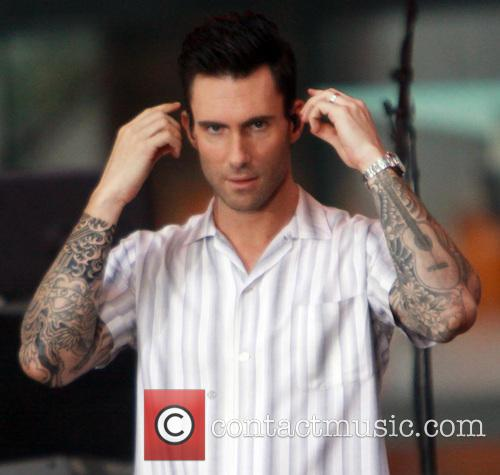 Adam Levine and Maroon 5 13