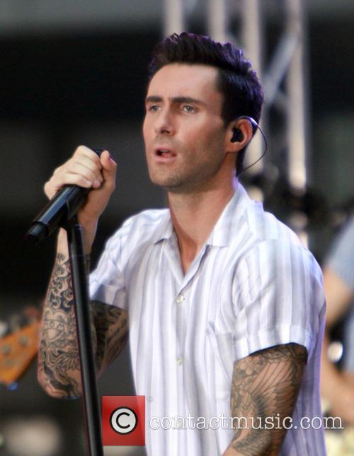 Maroon 5 singer Adam Levine